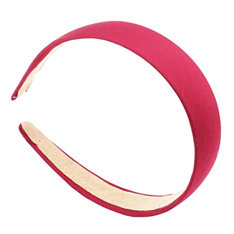 Narrow Satin Headband Alice Band Hair band Flexible size 1 cm width