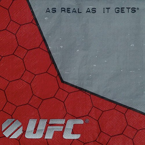[UFC Luncheon Napkins (16 pack)] (Worst Ideas For Halloween Costumes)