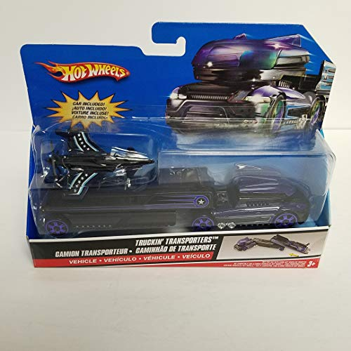 2007 Truckin' Transporters Hot Wheels with Stealth Fighter Jet - Wheels Stealth