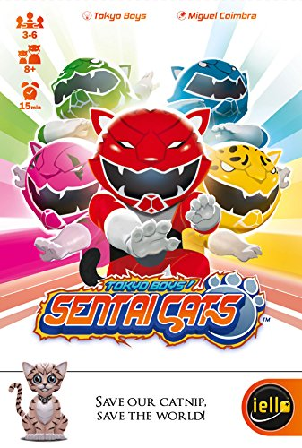 IELLO Sentai Cats Game Mini Card Game