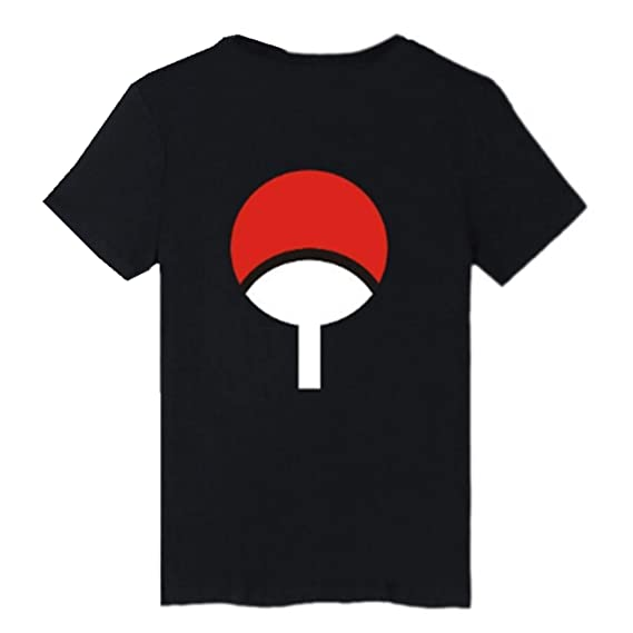 SERAPHY Unisex Camiseta Top Uchiha SharingaHokage Ninja Camiseta