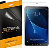 [3-Pack] Supershieldz for Samsung Galaxy Tab A 10.1 Screen Protector, High Definition Clear Shield + Lifetime Replacement (SM-T580/T587)