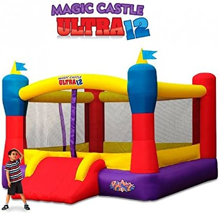 Amazon.com: Castillo hinchable mágico Blast Zone ...