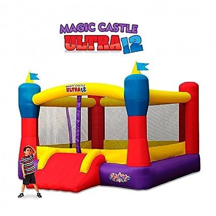 Amazon.com: Castillo hinchable mágico Blast Zone ...
