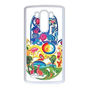 LG G3 cell phone cases White HAMSA fashion phone cases GFL2863626