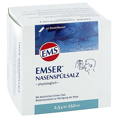 EMSER Nasenspülsalz physiologisch Btl. 50 St Pulver
