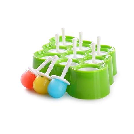 Moldes para helado Leegoal, moldes de silicona, moldes para hacer pájaros y helados con