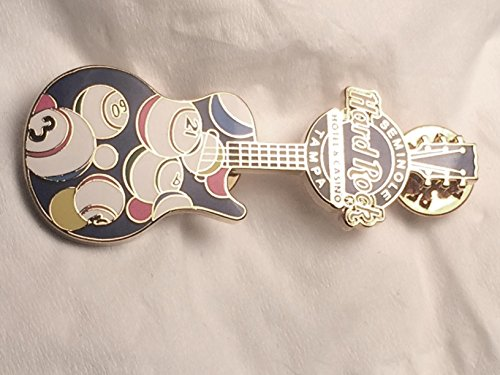 Seminole Hard Rock Tampa Bingo Les Paul Guitar Pin Limited ()
