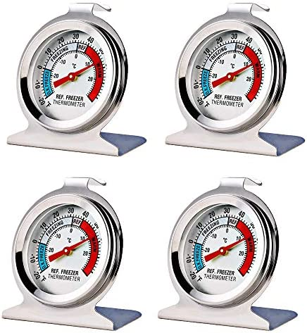 Pack Refrigerator Freezer Thermometer Large product image