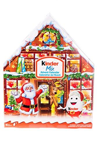 Kinder Mix Advent Calendar- 24 Kinder Confections Assortment, 182 g