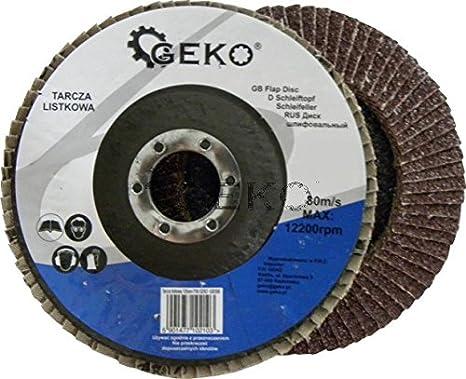 Lot de 10/pi/èces disques dentel/és de /Ø 125/Grain 36/10/disques abrasifs disques dentel/és Bois disques abrasifs pour ponceuse  Marron 10