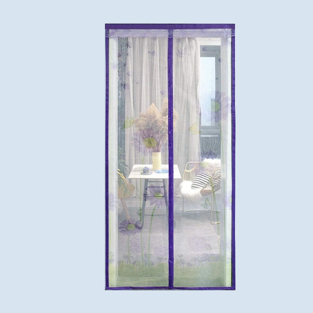 Patrón De Araña Mosquitera Para Puerta Corredera 140x240cm / 55x94inches Cortinas Mosquiteras Para Ventanas Mantenga el aire fresco adentro y los insectos afuera - Adecuado Adecuado para puerta,Fácil: Amazon.es: Hogar