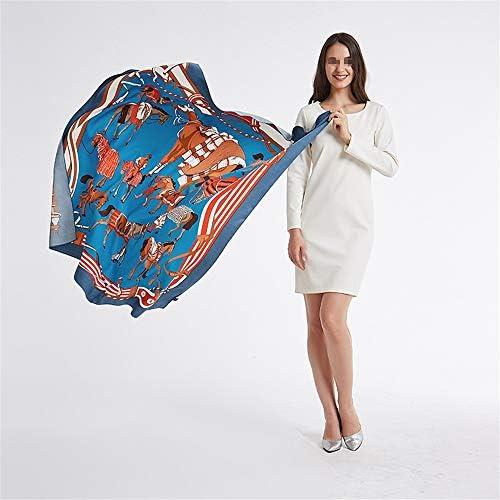Amazon.com: JIN-ER - Bufanda para mujer, diseño cuadrado ...