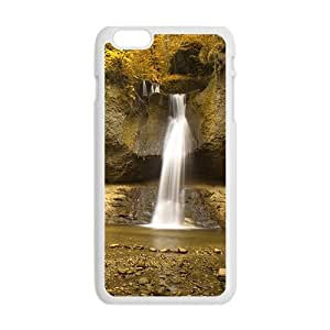 Personalized Creative Cell Phone Case For iPhone 6 Plus,silk waterfall and glam autumn forestMaris's Diary