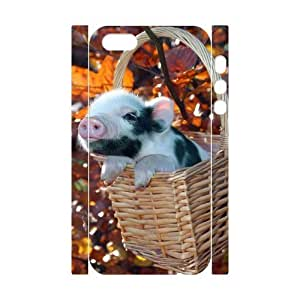 Diy Cute Pig Phone Case For HTC One M7 Cover 3D Shell Phone JFLIFE(TM) [Pattern-4]