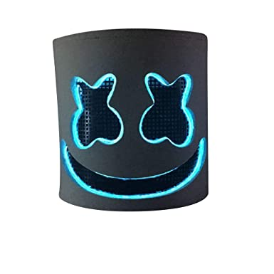 Marshmallow Mask, Music Festival Helmets, Novelty Costume Party Mask, Rubber Latex Ultra Cool Full Head Mask