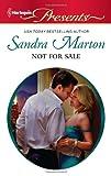 Not for Sale, Sandra Marton, 0373129831