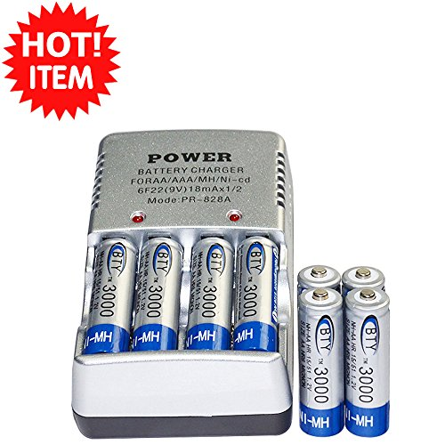 Best Solar Aa Battery Charger - 6