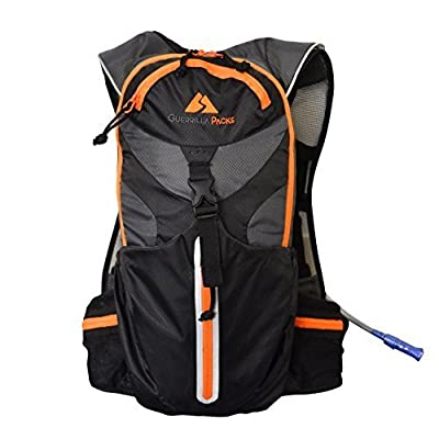 Guerrilla Packs Pace Setter Hydration Pack with 2-Liter Bladder by Guerrilla Packs