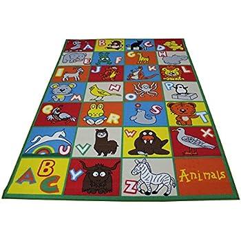 Amazon Com 8x10 Kids Boys Children Toddler Playroom Rug