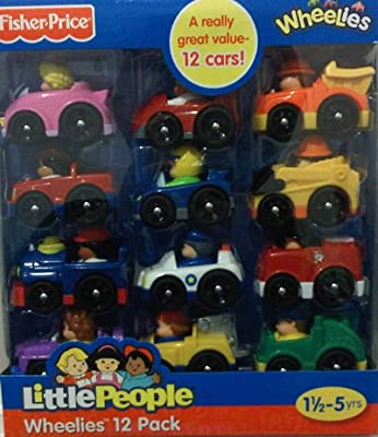 Fisher-price Little People Wheelies Vehicle 12-pack by Fisher-Price