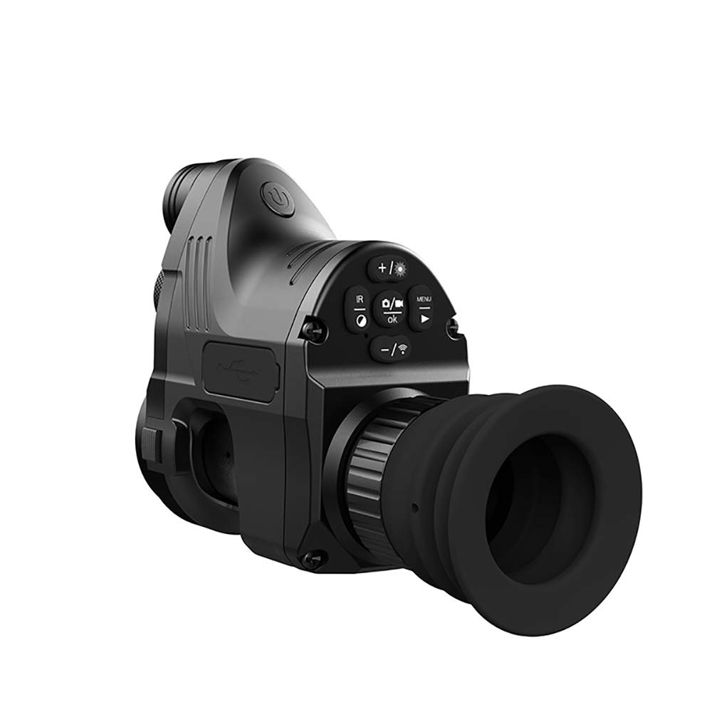 WOTR Night Vision Monocular, 4X-14X Night Vision IR Camera HD Digital Night Vision Scopes 200M Range Observation Night Vision Hunting Camera by WOTR