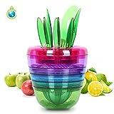 best seller today Fruit Slicer Set Creative Kitchen...