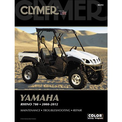 Clymer Repair Manuals for Yamaha RHINO 700 FI 4x4 Auto 2008-2009 -  CLYM397