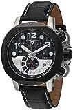 Swiss Legend Men's 10538-01-BB-SP Scubador Collection Chronograph Black Leather Watch