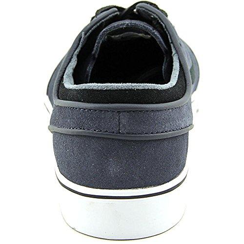 Nike Zoom Stefan Janoski Premium Se 631298-401 Scarpe Da Uomo Nere In Ossidiana / Nero / Bianco