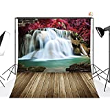 LB 8x8ft Waterfall Poly Fabric Photography Backdrops Customized Studio Background Photo backdrops Studio Props CL76