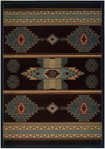 Deal of the week: United Weavers of America Designer Contours Collection Native Canvas Rug