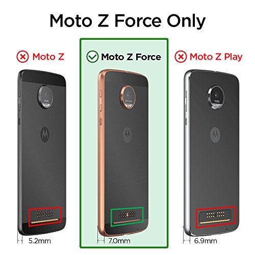 low priced 563ba 5b99e Spigen Rugged Armor Designed for Moto Z Force Droid Case - Import It All