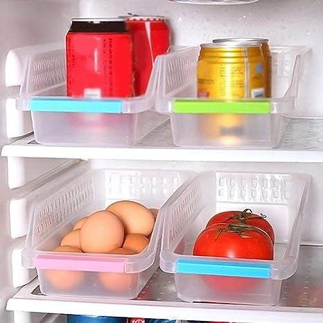Caja de almacenamiento para nevera, congelador, organizador de ...