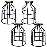 Kohree Metal Bulb Guard Lamp Cage, for Pendant Light, Lamp...