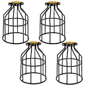 Kohree Metal Bulb Guard Lamp Cage, for Pendant Light, Lamp
