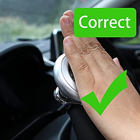 ONEVER Flying Tool Rotation 360 /° Safe Antideslizante Adecuado para Autos SUV Minivans Driving Tool