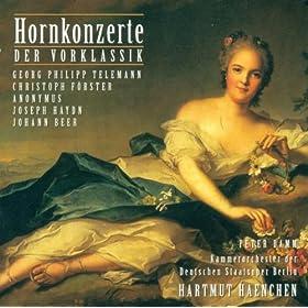 Amazon.com: Horn Concerto in D major, TWV 51:D8: I. Vivace