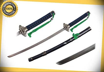 Collectibles Blue Exorcist Sword Anime Replica Of Kurikara Devils Swords Carbon Steel Cosplay Knives, Swords & Blades