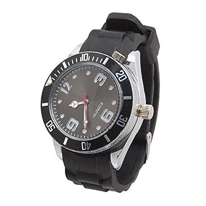 DigitalUK - Reloj de pulsera con molinillo para cigarrillos / tabaco / hierba, metal,