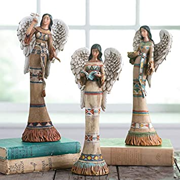 Native American Angel Set of 3