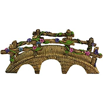 furniture fairy. Twig \u0026 Flower The Magical Garden Fairy Bridge With Hand Painted Flowers Vines Furniture