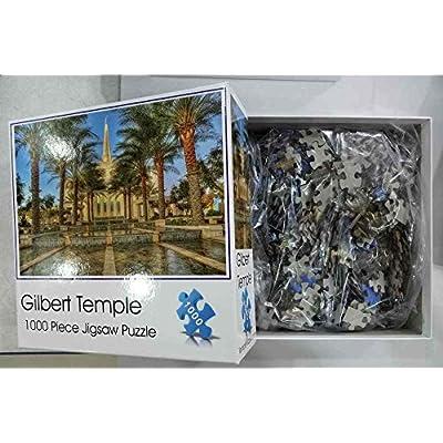 Gilbert Arizona Temple Jigsaw Puzzle - 1000 Piece - Latter Day Saints LDS: Toys & Games
