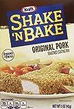 Kraft Shake N Bake Seasoned Coating Mix Box, Original Pork, 5.0 Ounce (Pack of 12)
