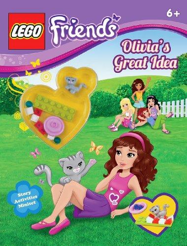 LEGO Friends: Olivia's Great Idea (Activity Book #1) -