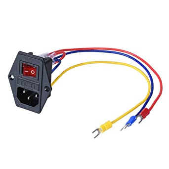 BIQU Direct 15A 250V Rocker Switch Power Socket mit 5Pcs 16 ... on