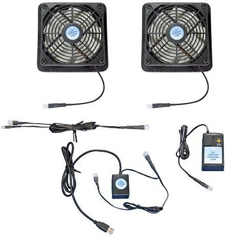 Plasma y LCD TV verticales Ventilador de sistema, con USB-control ...