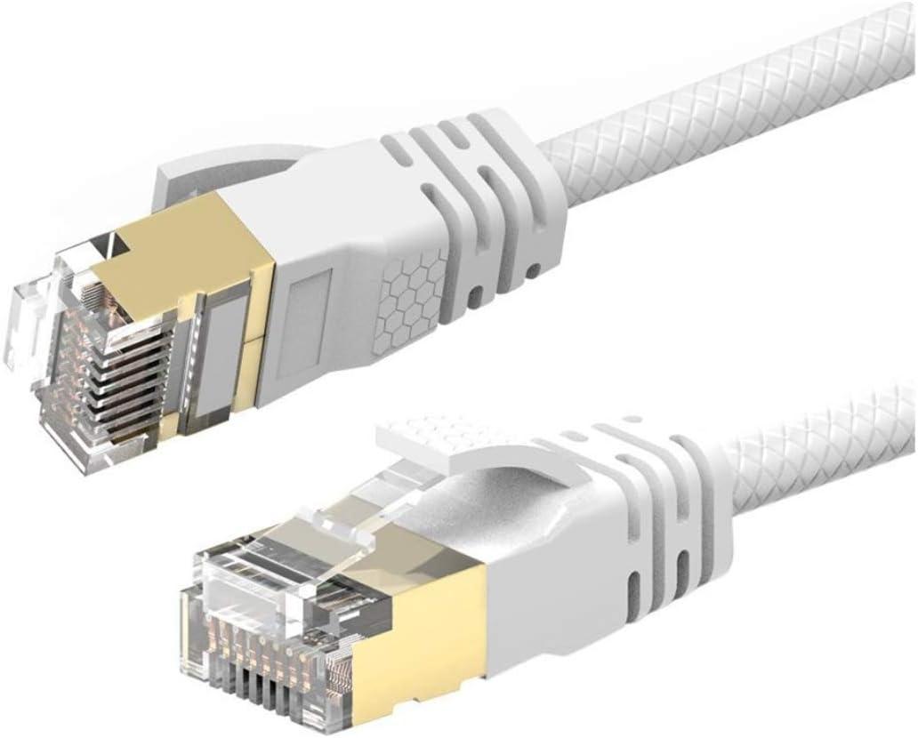 Reulin 1M Cat 7A Cable de red Ethernet - Ultra Delgado: Amazon.es: Electrónica