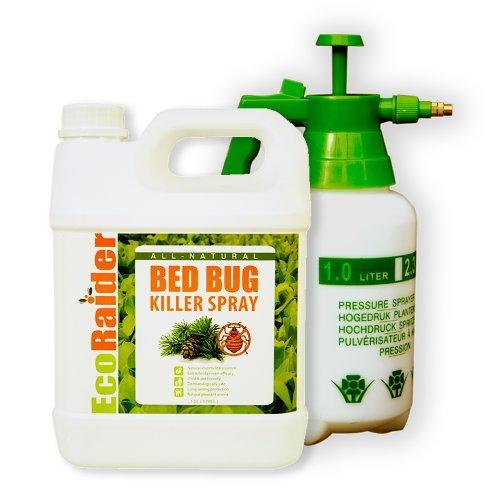 Bed Bug Killer by EcoRaider (Jug&Sprayer(s) (1 GL))
