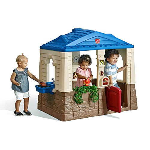 Outdoor Plastic Playhouses (step2 Playhouse Neat & Tidy Cottage)